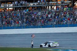 Brad Keselowski, Team Penske Ford celebrates his victory