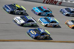 Chase Elliott, Hendrick Motorsports Chevrolet Ty Dillon, Germain Racing Chevrolet Jimmie Johnson, He