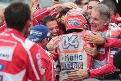 Racewinnaar Andrea Dovizioso, Ducati Team