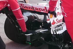 Ferrari SF70H dettaglio posteriore
