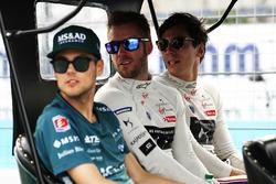 Tom Blomqvist, Andretti Formula E Team, Sam Bird, DS Virgin Racing, Alex Lynn, DS Virgin Racing