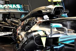 Mercedes AMG F1 W09 engine view