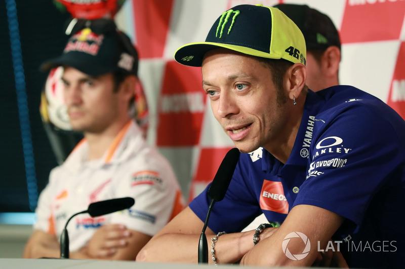 Conferencia de prensa, Valentino Rossi, Yamaha Factory Racing