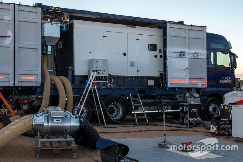 Camion de chargement Volkswagen Motorsport