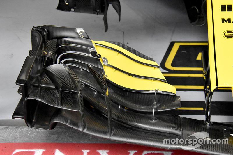 Carlos Sainz Jr., Renault Sport F1 Team R.S. 18, első szárny, részlet