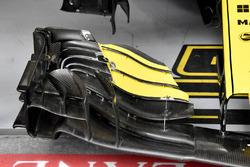 Carlos Sainz Jr., Renault Sport F1 Team R.S. 18 detalle ala delantera