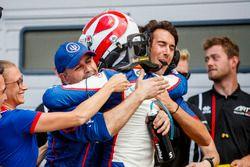 Second place Pedro Piquet, Trident