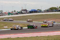 Jonatan Castellano, Castellano Power Team Dodge, Jose Savino, Savino Sport Ford, Juan Martin Bruno, Coiro Dole Racing Dodge