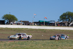 Juan Marcos Angelini, UR Racing Dodge, Christian Ledesma, Las Toscas Racing Chevrolet