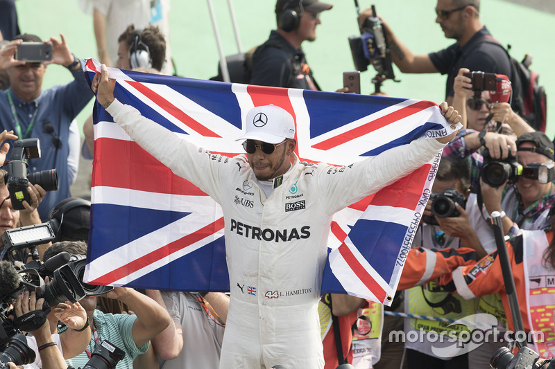 Lewis Hamilton (2008, 2014, 2015, 2017, 2018 y 2019)