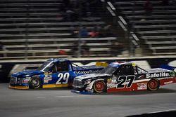 Chase Briscoe, Brad Keselowski Racing Ford, Ben Rhodes, ThorSport Racing Toyota