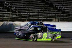 Austin Cindric, Brad Keselowski Racing Ford and Johnny Sauter, GMS Racing Chevrolet