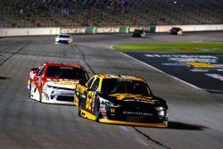 Brendan Gaughan, Richard Childress Racing Chevrolet and Michael Annett, JR Motorsports Chevrolet