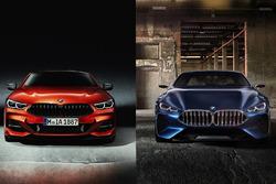 BMW 8 Series, fianco a fianco