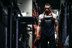 Mechanic of Pramac Racing Ducati