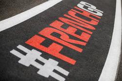 Надписи на трассе