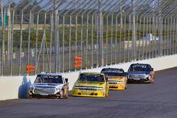 Zane Smith, DGR-Crosley, Toyota Tundra CROSLEY BRANDS / LaPaz Margarita Mix and Cody Coughlin, GMS Racing, Chevrolet Silverado Jeg's.com