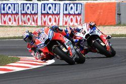 Andrea Dovizioso, Ducati Team, Danilo Petrucci, Pramac Racing