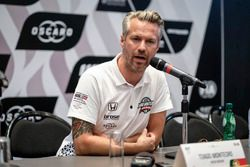 Basın toplantısı, Tiago Monteiro, Boutsen Ginion Racing Honda Civic Type R TCR