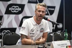 Press Conference, Tiago Monteiro, Boutsen Ginion Racing Honda Civic Type R TCR