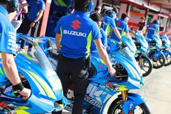 Bikes of Team Suzuki MotoGP