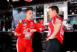 Christopher Bell, Joe Gibbs Racing, Toyota Camry Rheem and crew chief Jason Ratcliff
