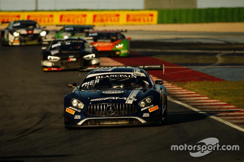 #88 Akka ASP Team Mercedes-AMG GT3: Raffaele Marciello, Michael Meadows