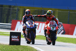 Michael van der Mark, Pata Yamaha, Chaz Davies, Aruba.it Racing-Ducati SBK Team