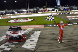 Winner Christopher Bell, Joe Gibbs Racing Toyota