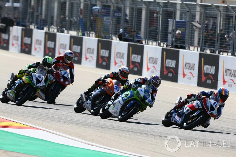 Nacho Calero, Orelac Racing VerdNatura, Andrew Irwin, CIA Landlord Insurance Honda