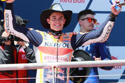 Podium: Ganador, Marc Marquez, Repsol Honda Team