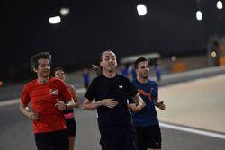 Robert Kubica, Williams corre por el circuito