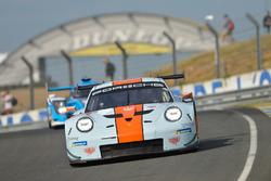 Майкл Уэйнрайт, Бенджамин Баркер, Александр Дэвисон, Gulf Racing UK, Porsche 911 RSR (№86)