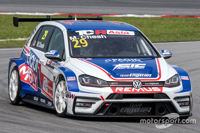 Mitchell Cheah, Liqui Moly Team Engstler, Volkswagen Golf GTI TCR