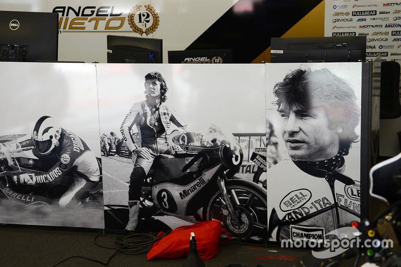Aspar Racing garage