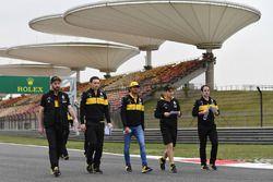 Ознакомление с трассой: Карлос Сайнс, Renault Sport F1 Team