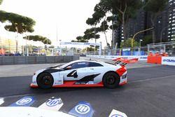 Audi e-Tron car on track
