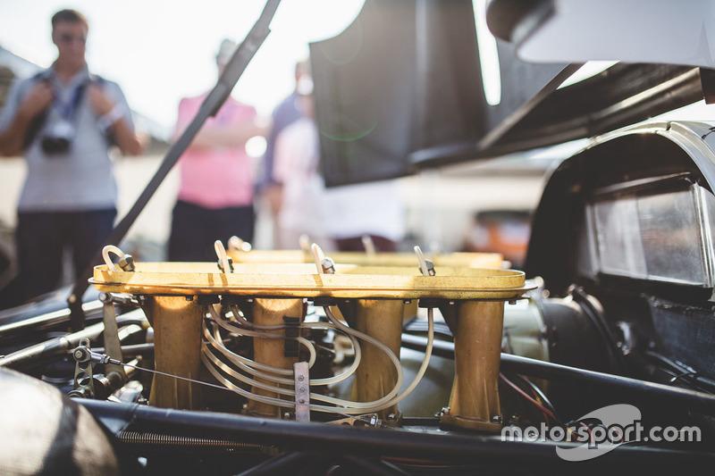 Detalle del motor del 1968 Porsche 908 LH