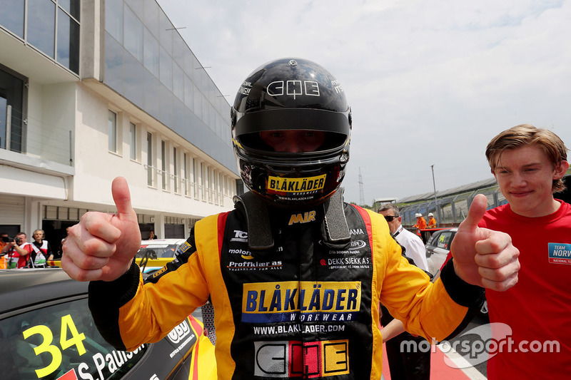 Il secondo classificato Stian Paulsen, Stian Paulsen Racing Cupra TCR