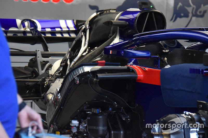L'arrière de la Toro Rosso STR13