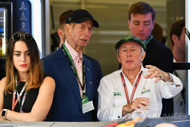 Jackie Stewart avec le Duc de Kent