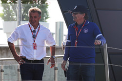 Jean Alesi, father of Giuliano Alesi, Trident and Nelson Piquet, father of Pedro Piquet, Trident