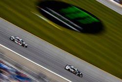 Aric Almirola, Stewart-Haas Racing, Ford Fusion Smithfield and Kevin Harvick, Stewart-Haas Racing, Ford Fusion Jimmy John's Kickin' Ranch