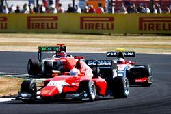 Giuliano Alesi, Trident Joey Mawson, Arden International and Dorian Boccolacci, MP Motorsport