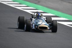 Lotus Ford 49 en el desfile del 70º aniversario de Silverstone
