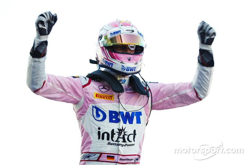 Günther a remporté sa première victoire en Formule 2