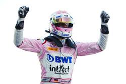 il vincitore della gara Maximilian Gunther, BWT Arden