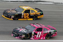 Blake Koch, Kaulig Racing Chevrolet and Brendan Gaughan, Richard Childress Racing Chevrolet