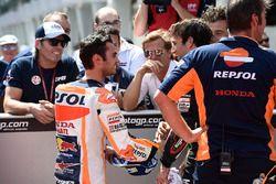 Pole: Dani Pedrosa, Repsol Honda Team, 2. Johann Zarco, Monster Yamaha Tech 3