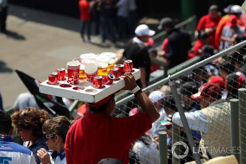 Birra e venditore di bevande